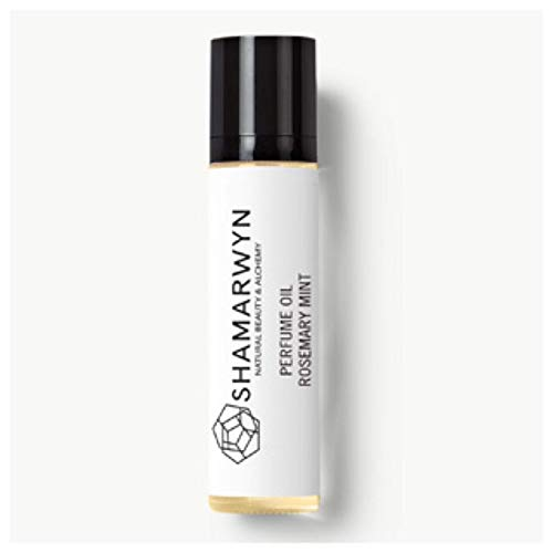 Perfume Oil, Rosemary Mint, Natural Organic, Botanical Fragrance, Pure Essential Oils, Roll-On 10ml by Shamarwyn: Natural Beauty & Alchemy