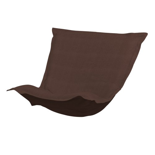 Howard Elliott C300-202 Puff Chair Cover, Sterling Chocolate