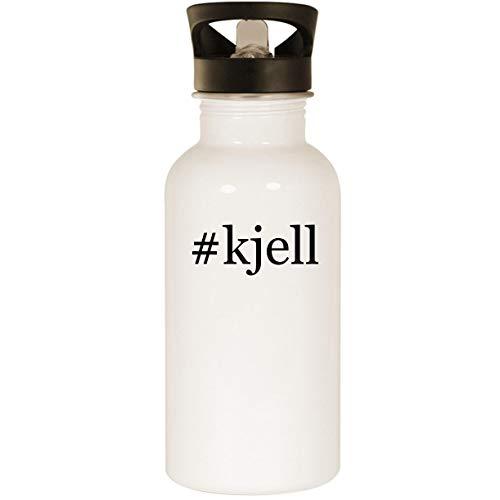 #kjell - Stainless Steel Hashtag 20oz Road Ready Water Bottle, White