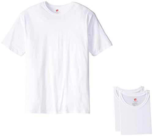 Crew T-Shirt, White, X-Large/Tall (Pack of 3) (Big Tall T-shirt)