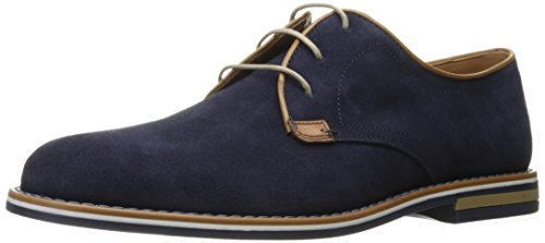 Kenneth Cole REACTION Mens Set The Stage Oxford Shoe Navy RzIDkTlfW