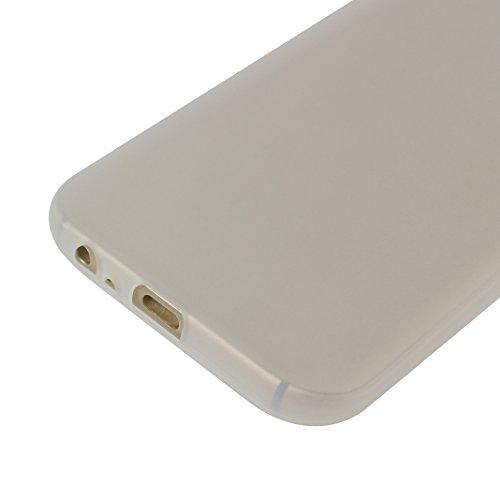 Galaxy A5 2017 Hülle Dünn Silikon, Asnlove Handy Schutzhülle für Samsung Galaxy A5 2017 Hülle TPU Silikon Backcover Case Handytasche Einfarbig Telefon-Kasten Tasche Schutz Cover Design Schwarz White