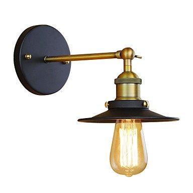 Amazon.com: Lámpara de pared de hierro forjado estilo retro ...
