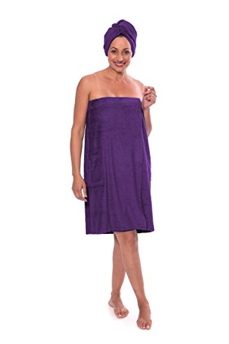 Terry Cloth Wrap - 6