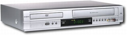 Insignia Progressive-scan DVD Player with 4-head Hi-fi VCR I