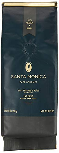 Café Intenso Moído Valvula Tin Tie Cafe Santa Monica 250g