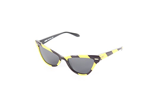 para Yellow MO Moschino 03 Mujer Sol de 302S Black Gafas 53 YxnPzn