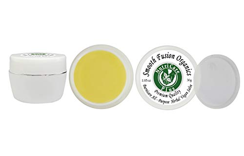 matitis, Rashes, Redness, Psoriasis Cream, Premium All-Purpose Body Herbal Vegan Salve, 15 Non-GMO Certified Organic Ingredients, Anti-inflammatory, Swelling, Butter, Balm, 30g jar ()