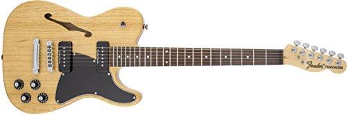 (Fender Jim Adkins Signature Series JA-90 Telecaster Thinline - Laurel Fingerboard - Natural)