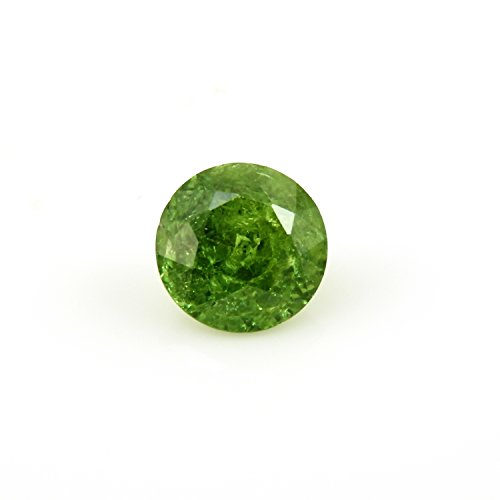 Natural Demantoid Garnet Round 9.10mm Single Piece Approximately 3.45 Carat (15524)