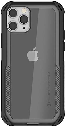 """Ghostek Cloak Designed for iPhone 11 Pro Case Thin Clear Military Grade Phone Cases Slim Fit Shockproof Protective Bumper Cover with Anti-Slip Grip for 2019 Apple iPhone 11 Pro (5.8"""" Screen) - (Black)"""