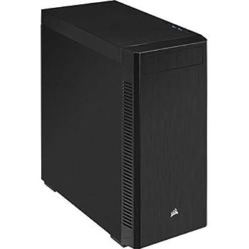 CORSAIR CC-9011184-WW CORSAIR 110Q Mid-Tower Quiet ATX Case, Black