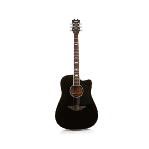 """Keith Urban 50-piece """"PLAYER"""" Acoustic Guitar and 30-Lesson Package – Rich Black"""