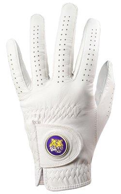 LSU Tigers Golf Glove & Ball Marker - Left Hand - - Lst Golf