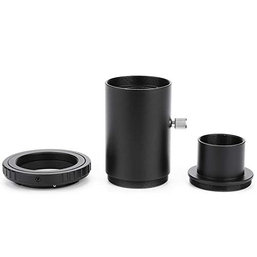 Acouto 1.25 inch Extension Tube M42 Thread T-Mount Adapter + T2 Ring for Canon Telescope Manual Focus by Acouto