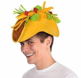 Amazon.com  Cinco de Mayo Taco Hat Mexican food partygoers Party ... a9d3362a373