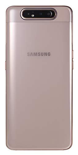 Samsung Galaxy A80 SM-A805F/DS 128GB Dual-SIM (GSM Only, No CDMA) Factory Unlocked 4G/LTE Smartphone - International Version (Angel Gold)