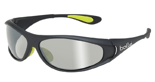 Bolle Spiral Sunglasses, TNS Gun, Shiny (Bolle Wrap Around Sunglasses)