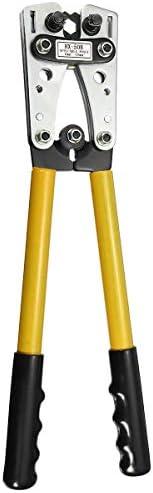 SSY-YU 6〜50ミリメートル圧着チューブターミナルクリンパープライヤーツール充電ケーブルラグ六角圧着工具ケーブルターミナルプライヤーハンドツールT0077 ペンチ 切断工具