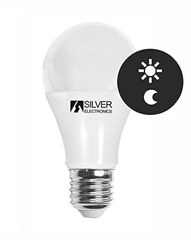 Silver Electronics - Bombilla Led Sensor 10w 3000k 810lm: Amazon.es: Iluminación