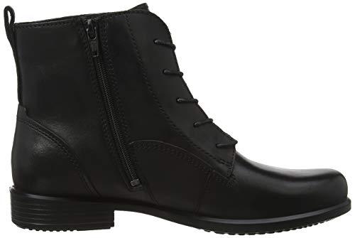 Touch Zapatos black4001 Cordones B Negro Mujer 15 Cuero Con Ecco De dSFx7qtwd