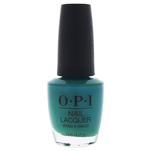 OPI Nail Lacquer, Teal Me More, Teal Me More