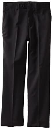 Isaac Michael Big Boys' Wool Dress Slacks, Black, 14