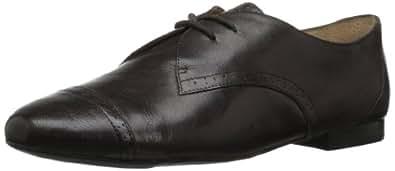 Nine West Women's Lacymaze Oxford,Grey Leather,5.5 M US
