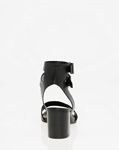 Sandal CH Ankle Cuff TEAU Black Women's LE xUvwaCqX