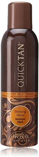 Body Drench Quick Tan Instant Self Tanner Bronzing Spray, Medium Dark 6 oz Pack of 7
