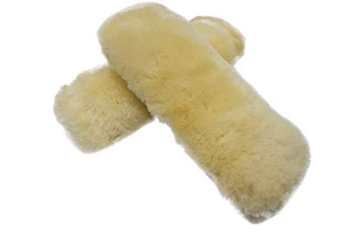 sheepskin armrest covers - 2