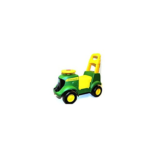(TOMY John Deere Sit N Scoot Activity Tractor With Sound and Figures Pack of 2)
