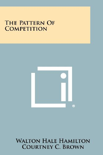 The Pattern Of Competition