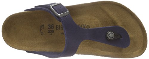 Birkenstock Gizeh Vegan - Sandalias de dedo Unisex adulto Azul - azul (marino)