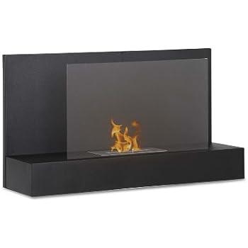 Amazon.com: Ignis Senti Wall Mount Ventless Ethanol Fireplace ...