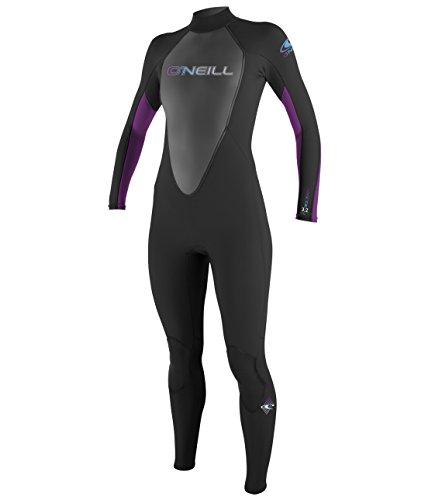 O'Neill Wetsuits Women's Reactor 3/2mm Back Zip Full - Wet Suits Ladies