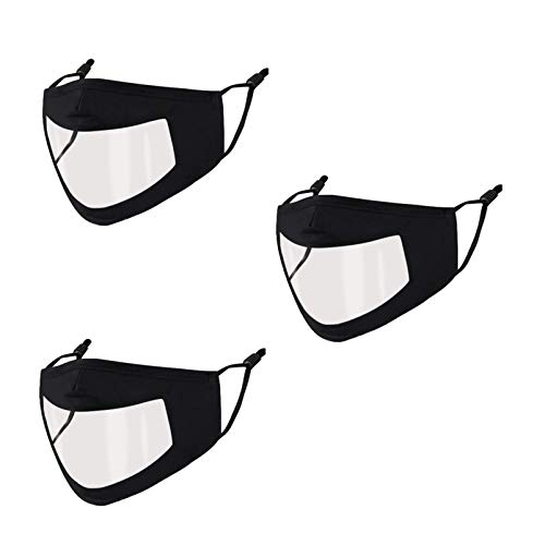 3D Ergonomic Designing Face Mask, with Lanyar for Gift, Breathable and Comfortable for Wearing