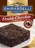 Ghirardelli, Chocolate Double Chocolate Brownie Mix, 18oz Box (Pack of 3)