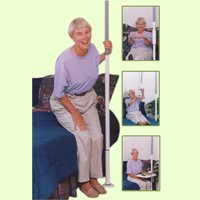 HealthCraft Products Inc. SuperPole System - Floor-to-Ceiling Grab Bar SuperPole8482; Basic SP-S