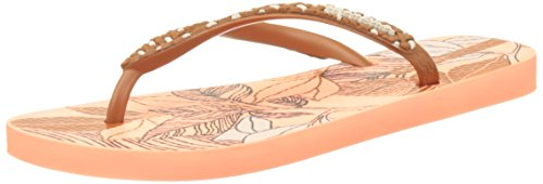 Ipanema Fashion Fem - Sandalias de dedo Mujer Orange (Orange/Brown)