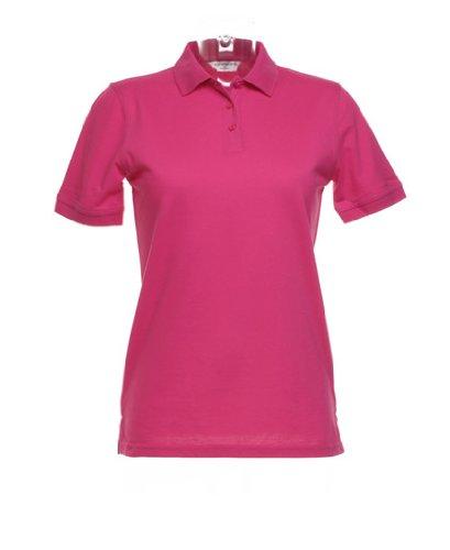 Kustom KitDamen Poloshirt Rot Rot