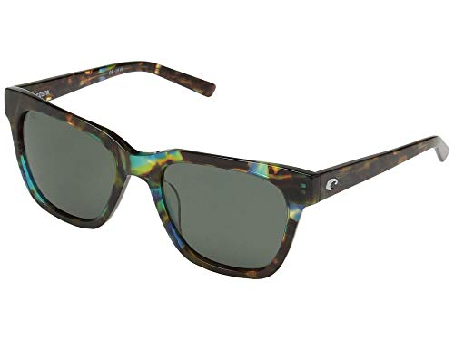 (Costa Women's Coquina Gray 580g/Shiny Ocean Tortoise Frame One Size)