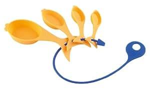 Kuhn Rikon Kinderkitchen Gold Fish Measuring Spoons