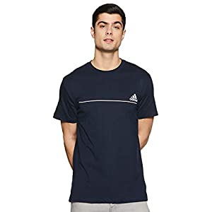 Adidas Men's Solid Regular Fit Polo