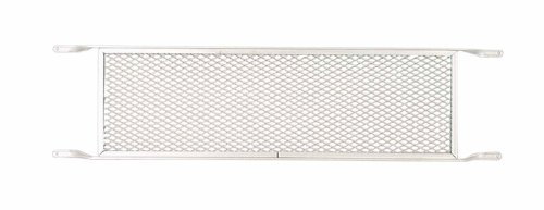 M-D Building Products 33209 M-D Push Door Grill, 36 in H X 8 in W, Aluminum, Mill
