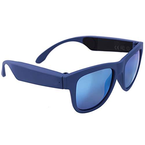 Alivier Gafas de Sol Inteligentes inalámbricas Bluetooth de conducción ósea Auriculares de música de Oreja Abierta…