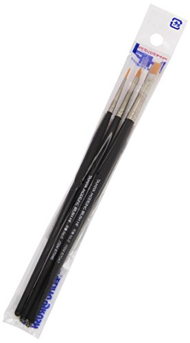 High Finish Pointed Brush - Tamiya USA TAM87067 Modeling Brush HF Standard Set