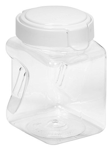 Airtight Square Grip Canister - Snapware Square-Grip Canister, 4.4 cups/1 liter - 2 Pack
