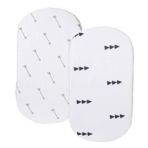 10 best bassinet sheets oval white