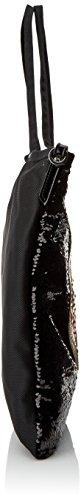 Tous Shopping Jodie Medallion Christmas de Nylon - Borse a spalla Donna, Negro (Black), 1x42x37 cm (W x H L)